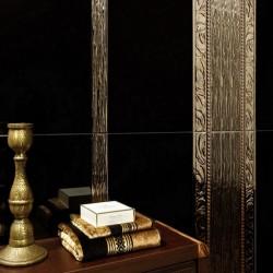 Луксозни  плочки за баня в кафяво-златист цвят / ALCALATEN