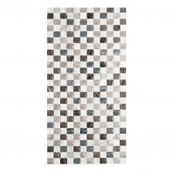 Плочки декор на цветни квадратчета мозайка - Бета 25х50