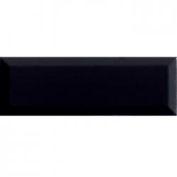 Фаянс за баня - стенни плочки в черен цвят 10X30 BRILLO NEGRO
