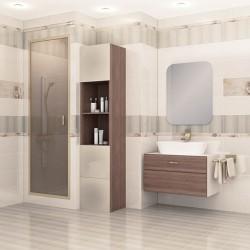 Съвременни  плочки за баня в светъл цвят / CERAMICA LATINA