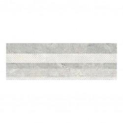 Мръсно Бели декорни плочки 20х60 - East Decorado (с ефект на мрамор)