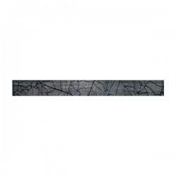 Плочки цвят сив 5x50/ Motion Listelo
