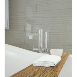 Плочки за баня за стил в банята в светъл цвят