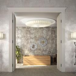 Плочки за баня в елегантен светъл цвят, N 28287