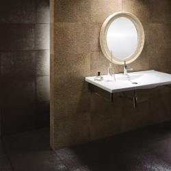 Испански плочки за баня, в кафяво-златист цвят - луксозни