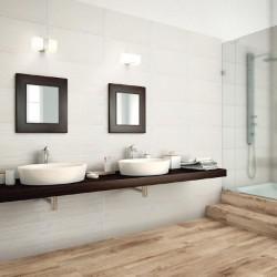 Плочки за баня с дървесен декор, N 29962