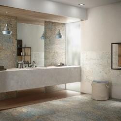 Плочки за баня в преливащи различни цветове / APARICI, N 29662
