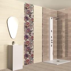 Модерни плочки за баня, испански - бял/бежов цвят