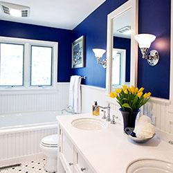 Когато цветът се превърне в основен герой в банята