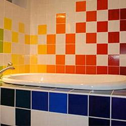 Психология зад цветовете в банята