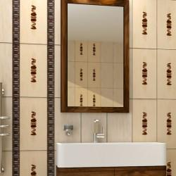 Плочки за баня в светли бежови цветове / KAI GROUP
