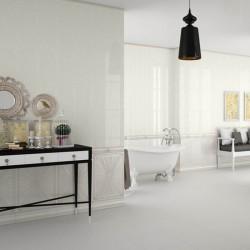 Плочки за баня в снежно бял цвят / Venus