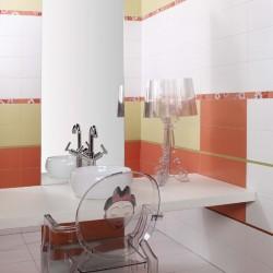 Стилни испански плочки за баня в свежи цветове