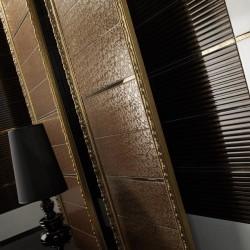 Създаващи настроение испански плочки за баня в кафяв/златист цвят  - луксозни