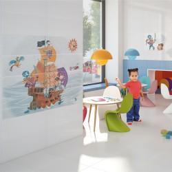 Испански плочки за баня -  Детска стая пиратски кораб