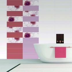 Прекрасни плочки за баня в свежи цветя - Испанска колекция