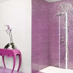 Стилни испански плочки за баня в лилав цвят  - тип мозайка