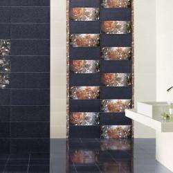 Симпатични испански плочки за баня в на цветя