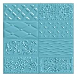 Фаянс за баня - стенни плочки в син цвят 10х20 Celeste Raspail