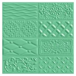 Фаянс за баня - стенни плочки в зелен цвят 10х20 Oliva Raspail